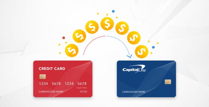 balance transfer on a Capital One credit card. bottom line
