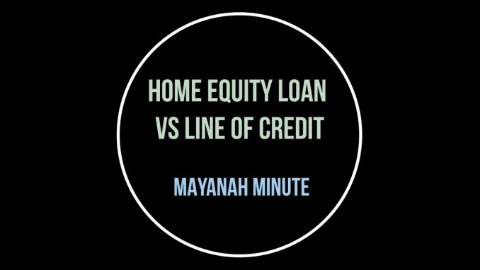 Home Equity Loan vs Line of Credit - A Comparative Look