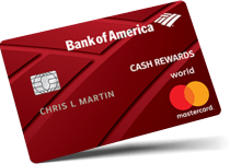 Bank of Americard for students