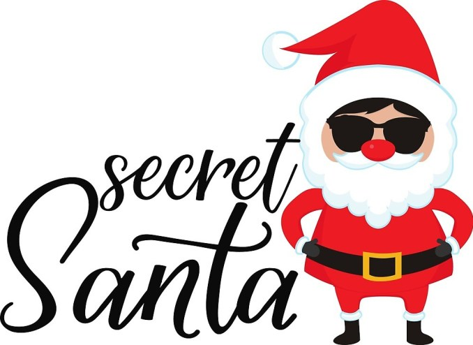 """""""Keep guessing who I am while I bring the gift that you have always wanted. Being a secret Santa is so much fun!"""""""