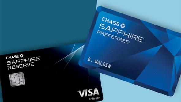 Chase Sapphire Reserve vs Chase Sapphire Preferred Comparison