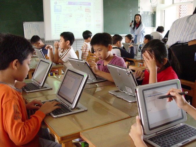 Technology helps to prepare students for their future world.