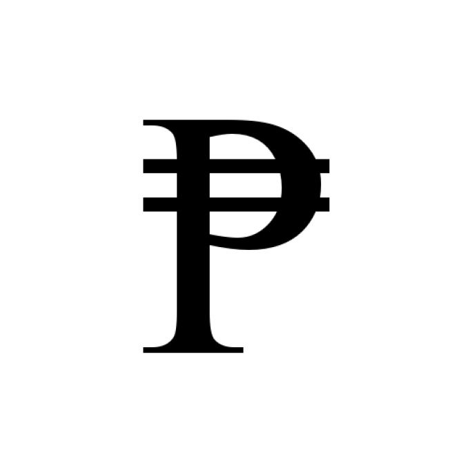Peso Sign in Microsoft Word