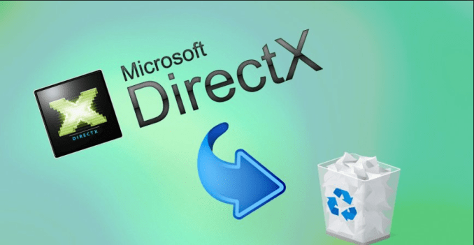 How to Uninstall DirectX