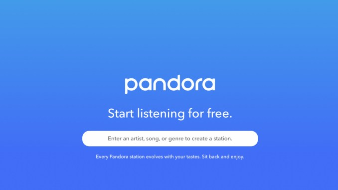 How to Remove a Station From Pandora