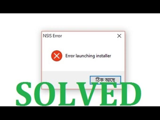 Step 4: Done!: NSIS error fixed