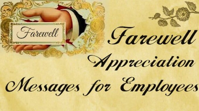 Employer Farewell Message to Employees