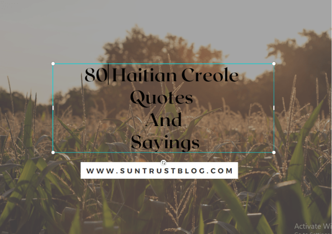 Haitian Creole quotes