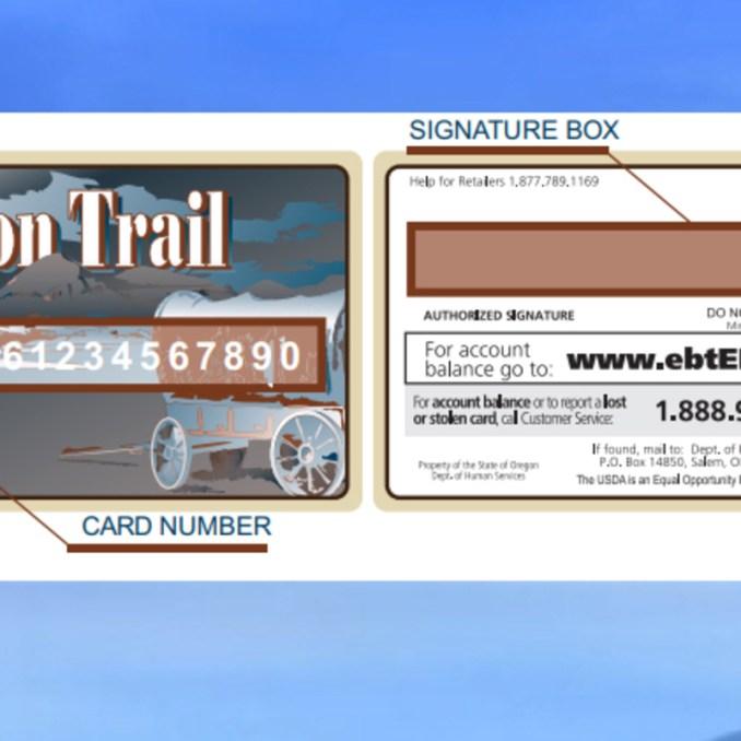 How to check the Oregon EBT Card Balance