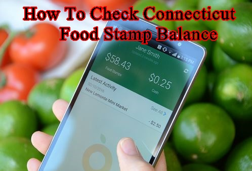 How to Check yourConnecticutEBT Card Balance