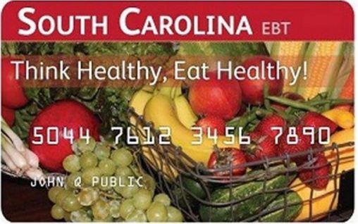 South Carolina EBT Card Balance