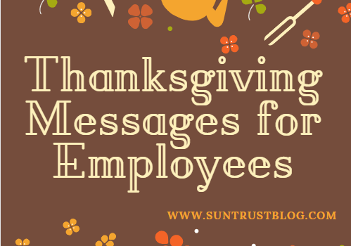 Thanksgiving Messages for Employees