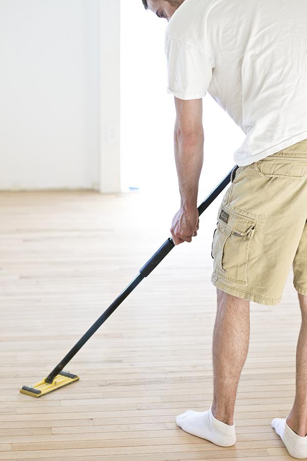 Finish the floors