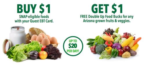 Arizona double up Food Bucks