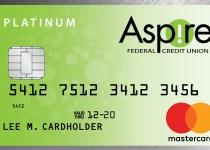 Aspire Platinum Rewards Mastercard®