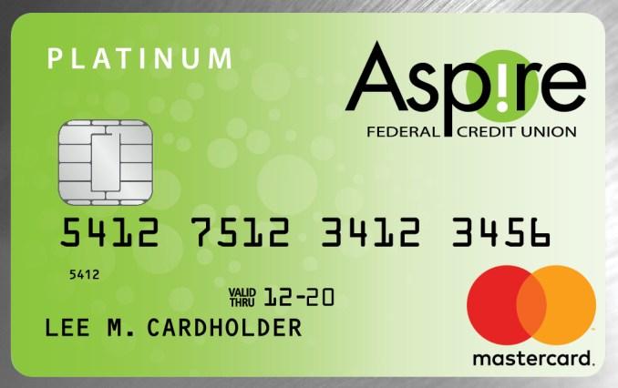Aspire Platinum Rewards Mastercard