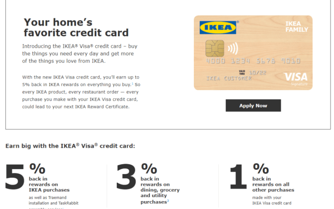 IKEA Visa Credit Card Review: This card is best for
