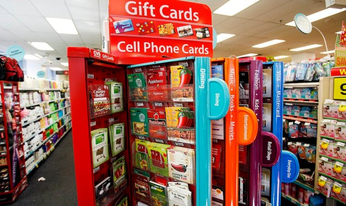 Gift Cards at CVS: Department Stores , Restaurant, & Cinemas Listed