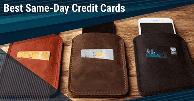 Instant Approval Credit Cards: Can I Get A Credit Card The Same Day.