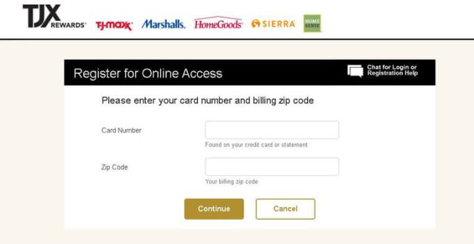 How to Pay my TJX Rewards Credit Card bill