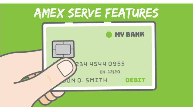 Features of the American Express Serve Card
