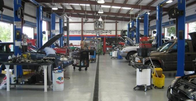 auto repair shop names