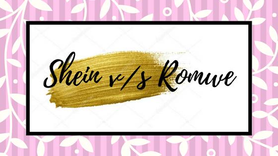 Romwe vs. SHEIN