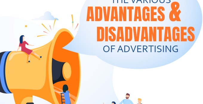 Advantages & Disadvantages of Advertising