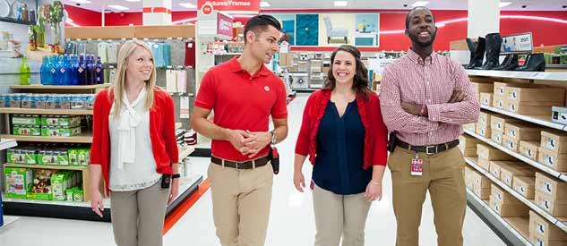Target Employee Job duties