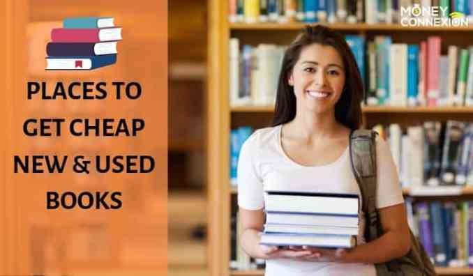 10 Best Places for Cheap New and Used Books for You