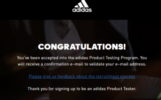 Adidas Product Testing: How to Become an Adidas Product Tester