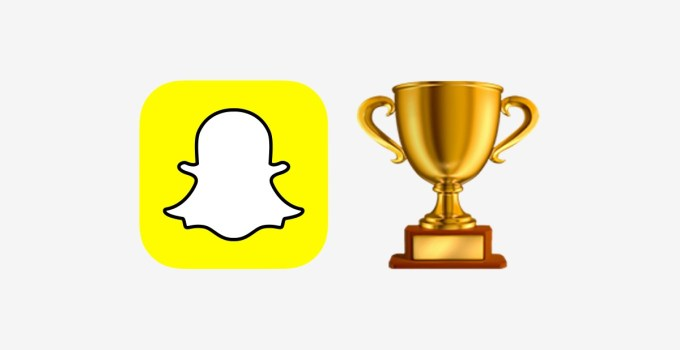What are Snapchat trophies