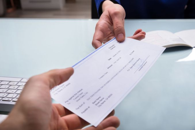 How To Deposit A Check With Two Names