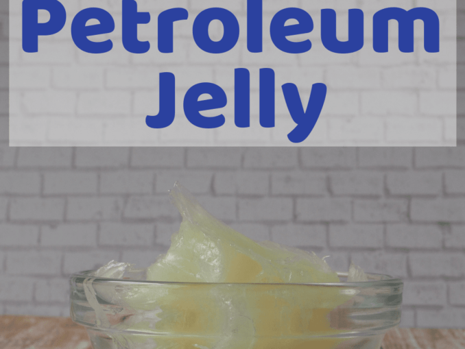 Petroleum Jelly Cotton Ball