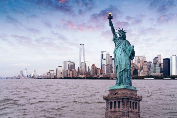 The US Symbol Statue of Liberty