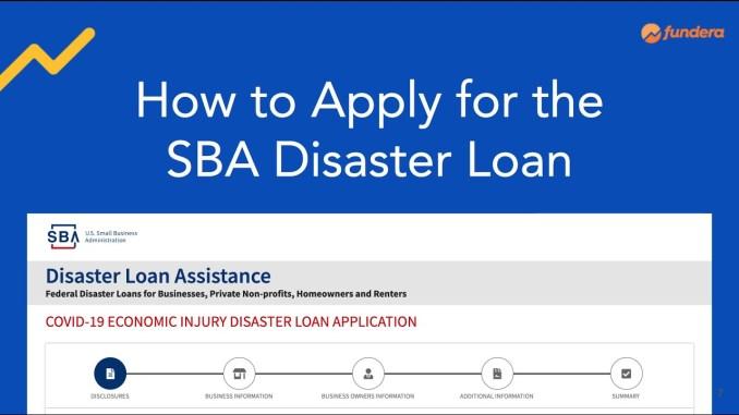 SBA EIDL Loans