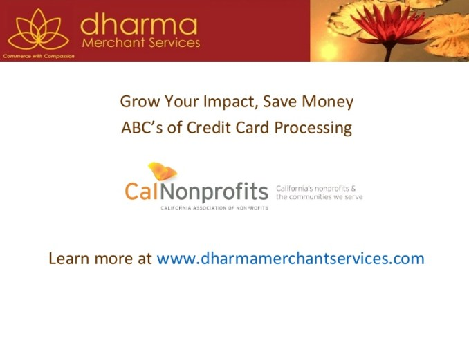 Dharma Credit Card Processing Costs