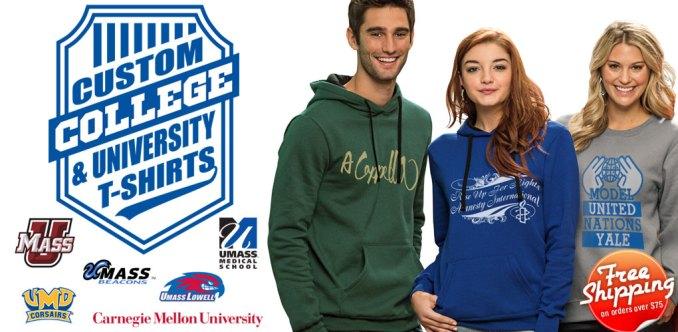 college shirts