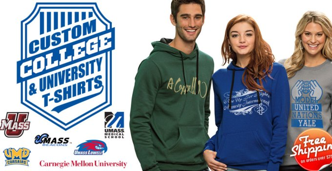 free college shirts