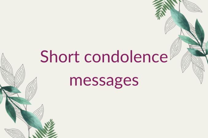 condolences email