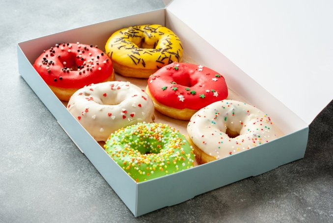 Doughnuts - These Are The Popular 17 Breakfast Foods in America