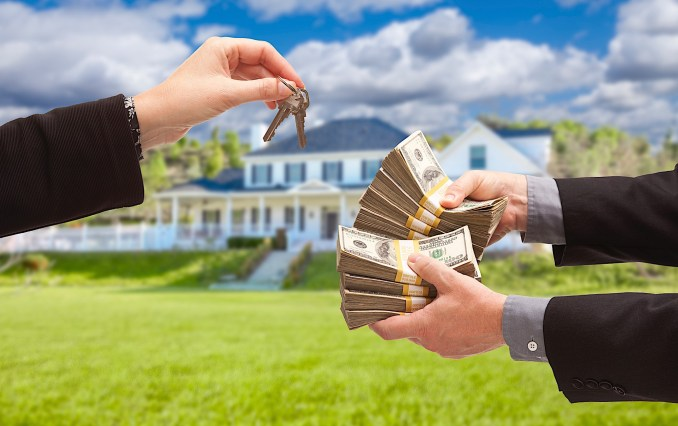 Pay Outright for a house