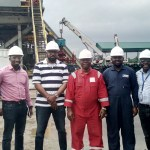 Inspection visit by SunTrust Oil MD/CEO