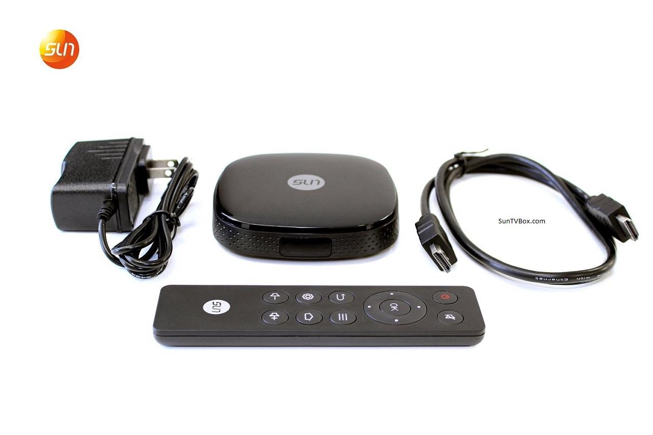 SunTV Box 3型 中文電視機頂盒 正版節目 性價高