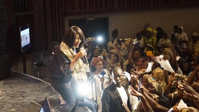 VIVIANE-16 Sorano : Meeting BBY, Viviane Chidid bat campagne pour Macky Sall (17 images)