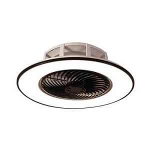 Plafonnier LED à 3 couleurs avec ventilateur accompagné d'une télécommande