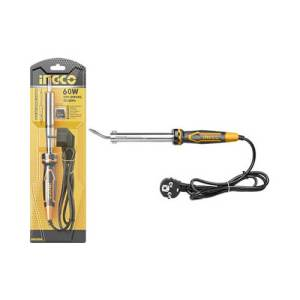 Fer à souder électrique à tête courbée et plate 60W INGCO SI0368