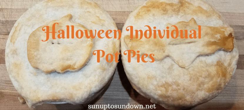 Halloween Individual Pot Pies