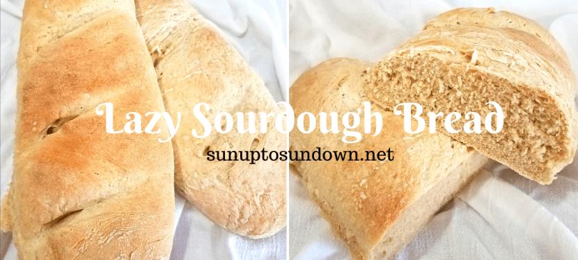 Lazy Sourdough Bread