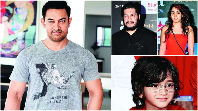 Exclusive! Aamir Khan: My kids have to audition even for my home productions